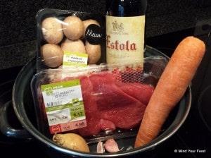 stoofschotel rode wijn