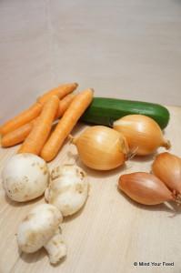 groenteschotel met gehakt