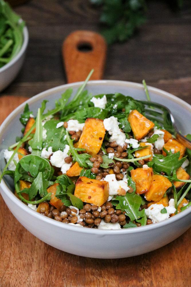 gezonde salades, hoe maak je een gezonde salade, lunch salades