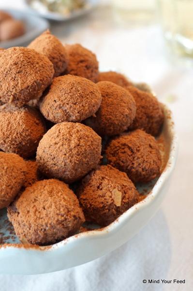 Chocolade kokostruffels