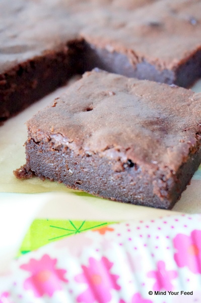 Brownie speltmeel