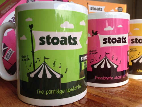 Stoats oat bars