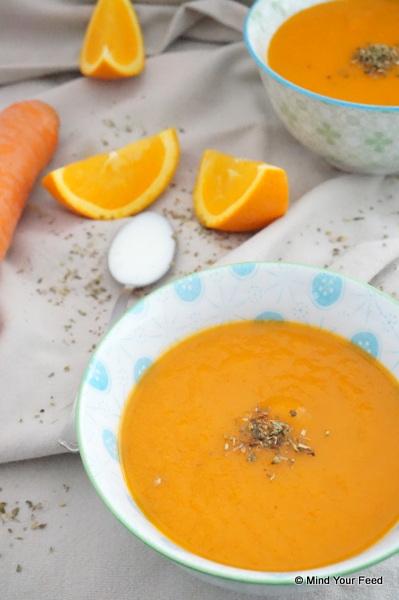 wortel paprikasoep