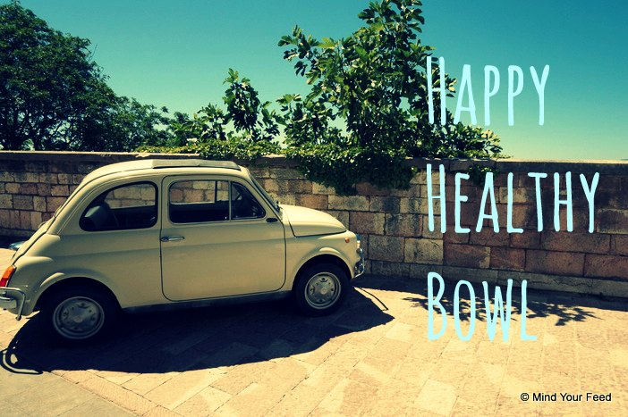 Happy healthy bowl