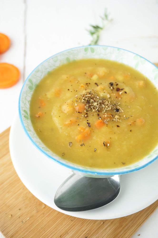 Broccoli wortelsoep