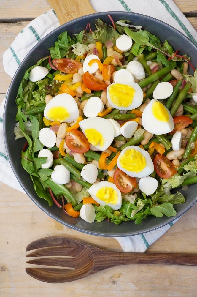sperziebonen salade