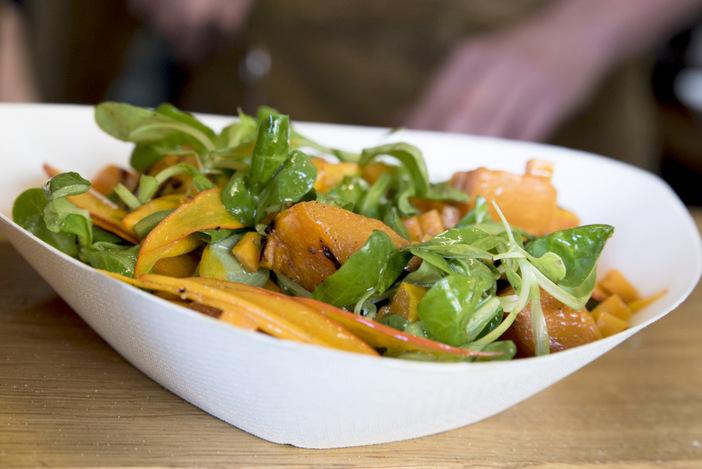 salade van geroosterde pompoen (2)