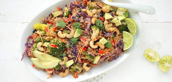 Thaise quinoa salade cover