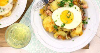 Tiroler grostl, recept voor Oostenrijks aardappel gerecht