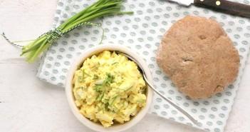 paasbrunch recepten, eiersalade recepten
