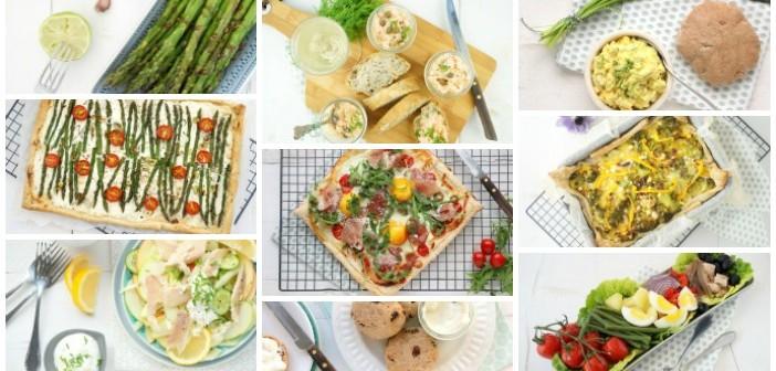 paasbrunch recepten, lekkerste recepten voor de paas lunch