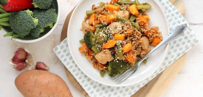 broccoli zoete aardappel