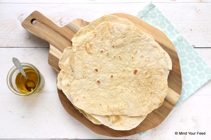 tortilla wraps van speltbloem