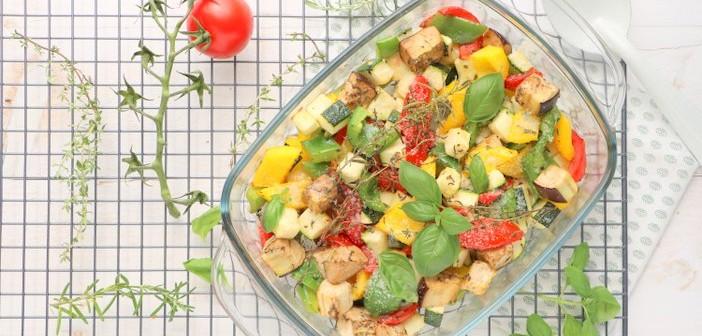 Italiaanse groenten uit de oven