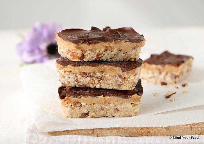 chocolade pindakaas repen