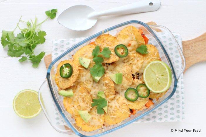 zoete aardappel nacho schotel, zoete aardappel recepten, zoete aardappel stamppot, zoete aardappel quiche, zoete aardappel gerechten, zoete aardappel uit de oven, vegetarische recepten zoete aardappel.