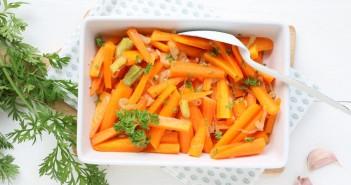 geglaceerde worteltjes