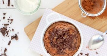 chocolade yoghurtcake met pindakaas