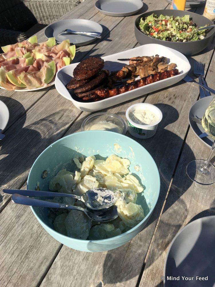 Kartoffelsalat, Duitse aardappelsalade, origineel recept