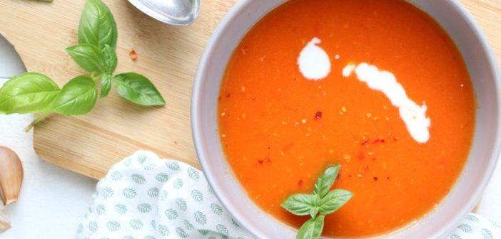 geroosterde paprika tomatensoep