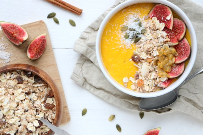 pompoen smoothie bowl