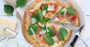 havermout pizza bianco