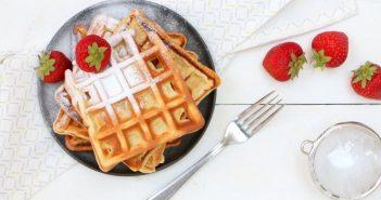 yoghurt wafels, ontbijt recept voor luchtige wafels