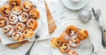 appel kaneel croissant rolletjes