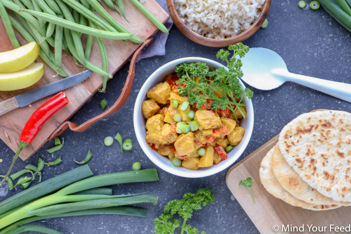 kip madras. Wereldgerechten met kip, makkelijke recepten met kip
