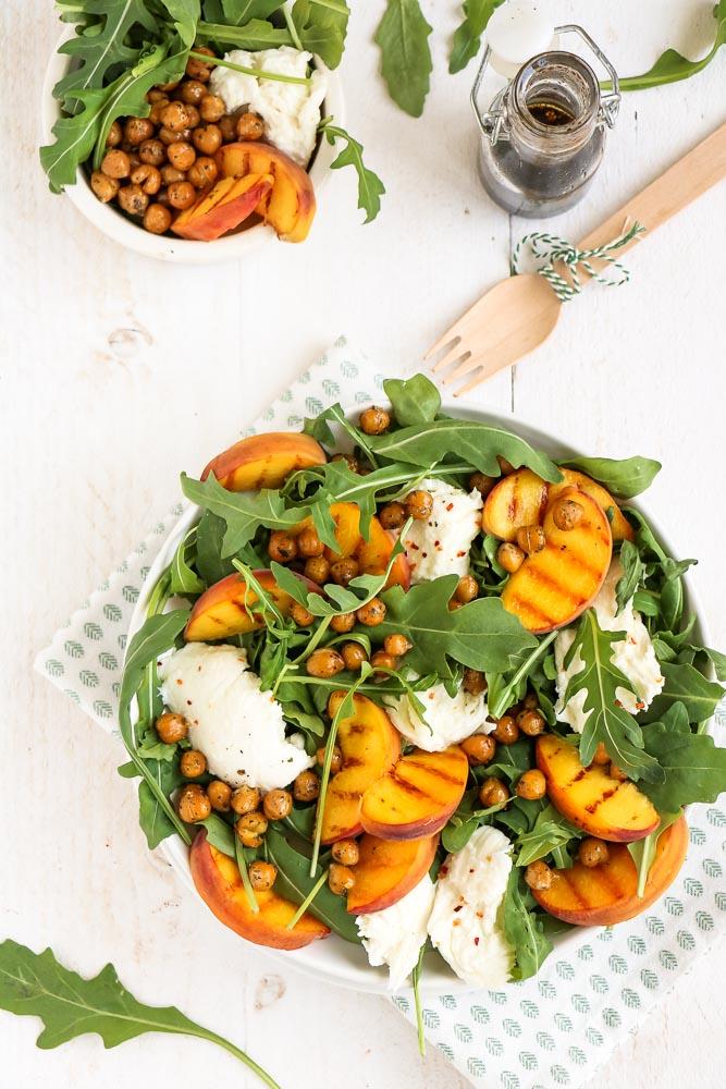 zomer salade recepten, zomerse salade recepten, bijgerechten, bbq