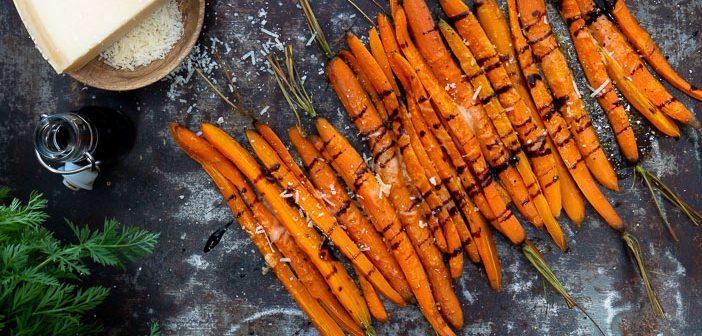 geroosterde wortelen uit de oven