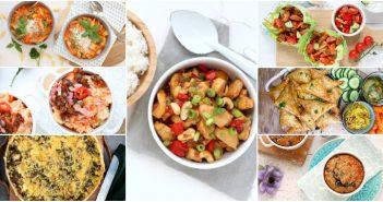 weekmenu makkelijke maaltijden makkelijke recepten doordeweekse maaltijden