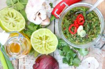 chimichurri argentijnse groene salsa