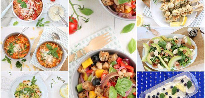 weekmenu makkelijke maaltijden recepten snelle gezonde gerechten