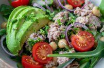 Natuurlijk lunchen salade recepten