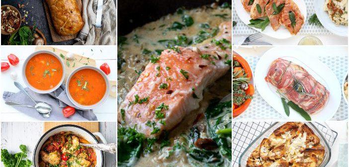 weekmenu makkelijke maaltijden gezonde recepten, lekker en snel, weekplanning avondeten
