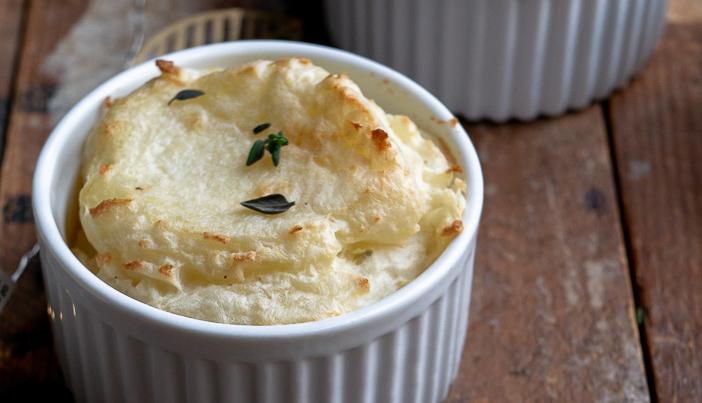 aardappelpuree uit de oven, recept aardappelpuree, zelf aardappelpuree maken, bijgerechten, groenten, kerst