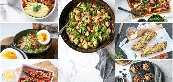 weekmenu makkelijke maaltijden, gezonde recepten, lekker en simpel, gezonde maaltijden,