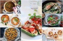weekmenu makkelijke maaltijd, gezonde recepten, lekker en simpel gerechten voor elke dag. Wat eten we vandaag?