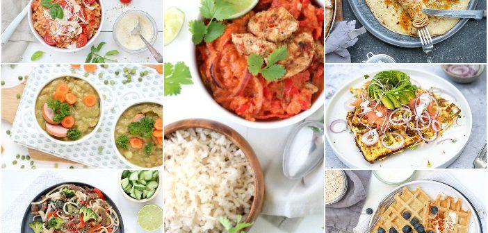Makkelijke maaltijden. Snelle en gezonde recepten. In mijn weekmenu zet ik een weekplanning met gerechten voor je klaar. Lekker eten de hele week!