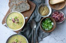 Limburgse mosterdsoep, zelf mosterdsoep maken, recept voor mosterdsoep met Limburgse mosterd