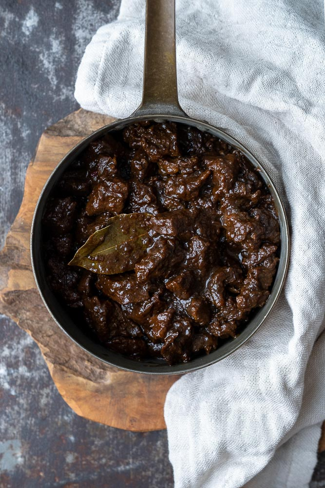 Daging smoor, Indonesisch stoofvlees, rundvlees recept