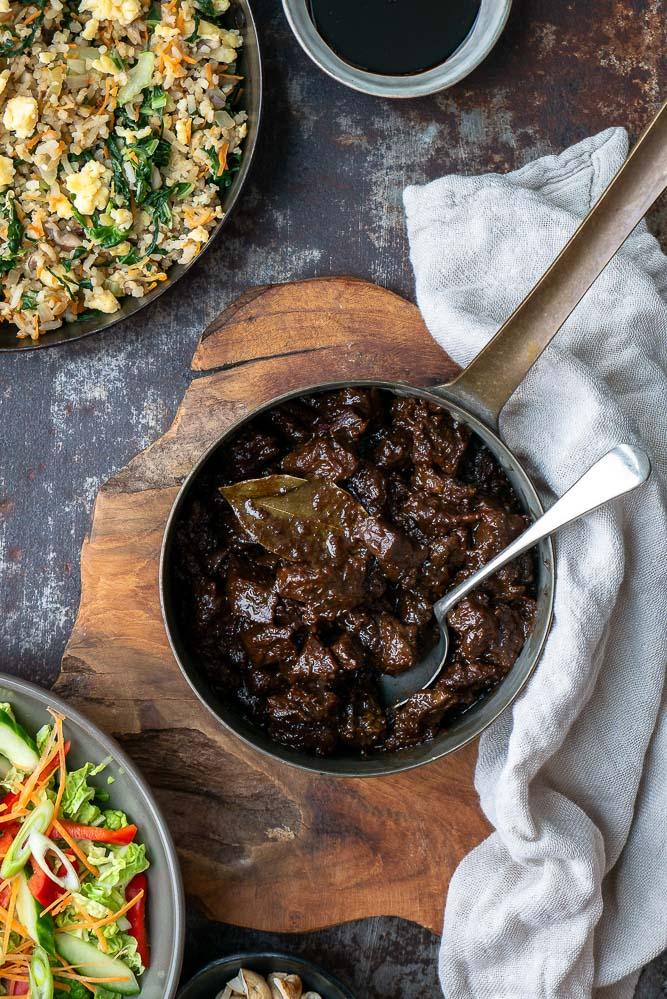 Daging smoor, rundvlees, Indonesisch stoofvlees