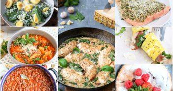 weekmenu makkelijke maaltijden, lekker en snel klaar, gezonde recepten