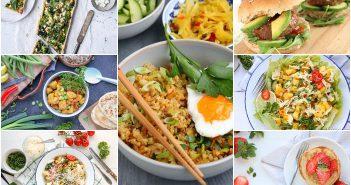 Weekmenu makkelijke maaltijden, eetplanning, makkelijke snelle recepten