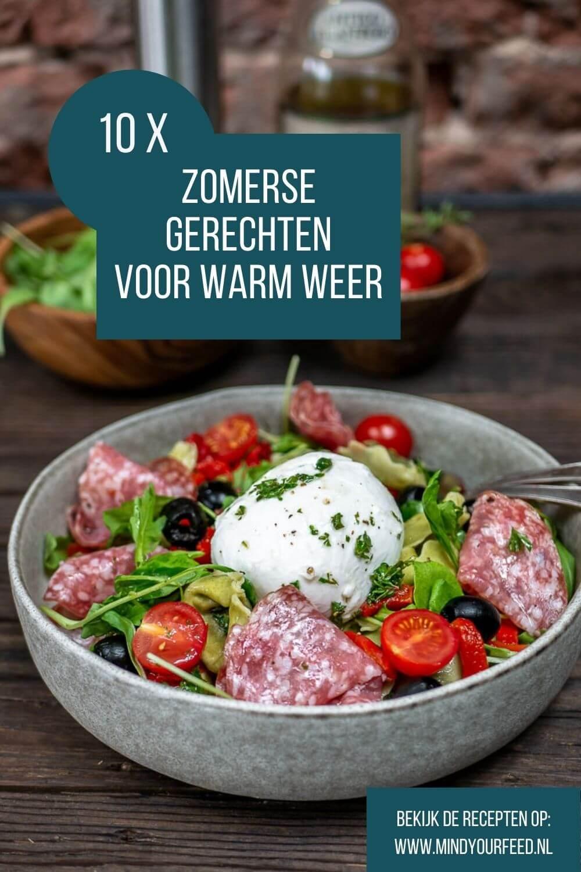 zomerse gerechten, zomer maaltijden, zomer recepten voor warm weer, makkelijke recepten snel klaar, pasta salades, rijst salades, lichte gerechten