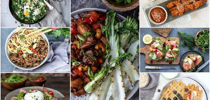 weekmenu makkelijke maaltijden, gezonde recepten, weekplanning, lekker en simpel