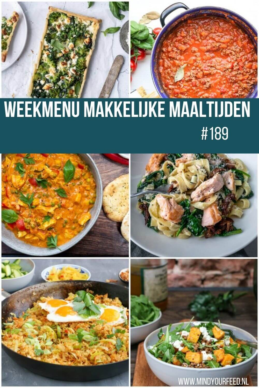 weekmenu makkelijke maaltijden. Makkelijke maaltijden. Snelle en gezonde recepten. In mijn weekmenu zet ik een weekplanning met gerechten voor je klaar. Lekker eten de hele week!